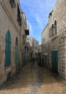 Yet another old street in Bethlehem.