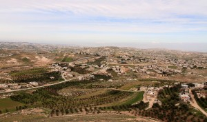 A view from Herodium.