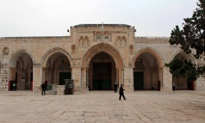 Al-Aqsa Mosque, the third holiest site in Islam.