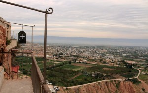 View of Jericho from the Monastery of Temptation.