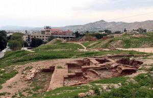 Ruins at Tell es-Sultan.