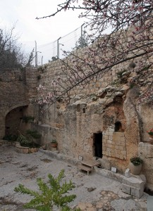 The Garden Tomb where Jesus Christ may have been buried.