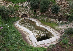 An old Roman wine press next to the Garden Tomb - more evidence that this may have been the garden of Joseph of Arimathea and thus where Christ was buried.