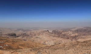 The Great Rift Valley in Jordan.