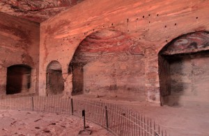 Inside the Urn Tomb.