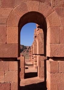 Arches near Urn Tomb.