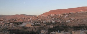 Wadi Musa, the town near Petra.