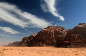 One last view of Wadi Rum.