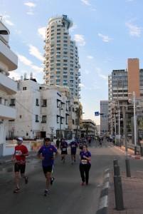 The Tel Aviv Marathon.