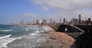 Tel Aviv, seen from Old Jaffa.
