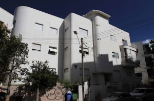 Another example of Bauhaus architecture found in Tel Aviv.