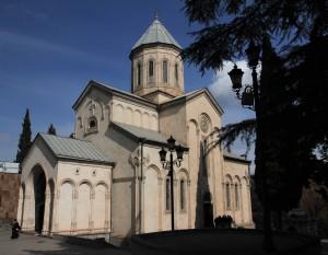 Kashveti Church of St. George in Tbilisi.