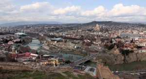 Another view of Old Tbilisi from Narikala Fortress.
