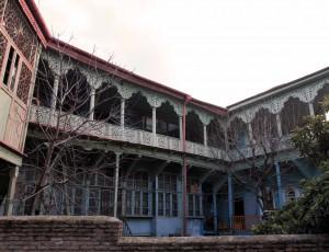 A beautiful Georgian-style home in Tbilisi.