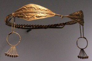 Gold diadem for a noble Colchian female.