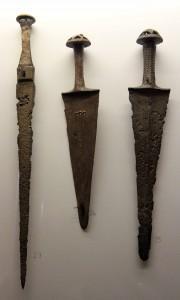 Bronze daggers.