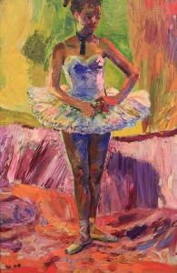 """Ballerina"" by Valentine Sherpilov (1960)."