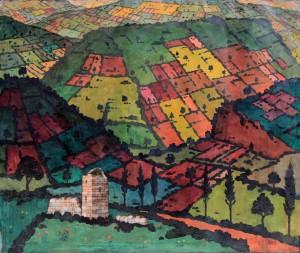 """Imereti"" by David Kakabadze (1919)."