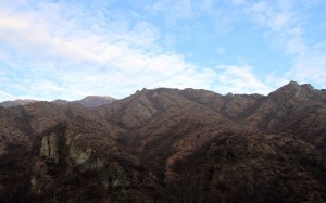 Mountains along the Debed River.