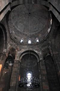 Inside the Church of St. Hripsimé.