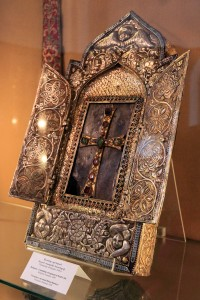 Reliquary containing a fragment of Noah's Ark.