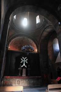 Inside St. Astvatsatsin Church.