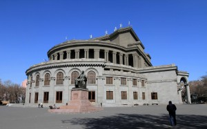 The Opera Theater in Yerevan.