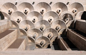 Design on the lowest-level of the Yerevan Cascade.