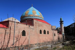 The Blue Mosque in Yerevan.