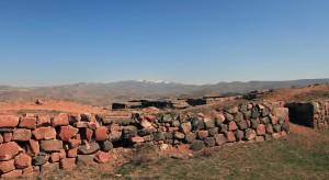 Ruins at Erebuni Fortress.