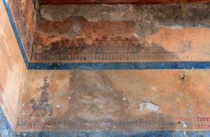 Fresco in the Temple to Khaldi at Erebuni Fortress.