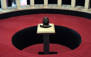 Stalin's death mask.