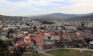 View of Gori from the fortress.