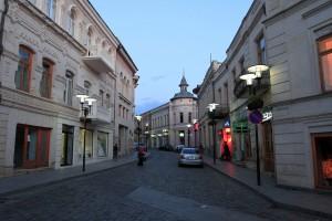 Street in Old Kutaisi.