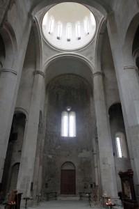 Inside Bagrati Cathedral.