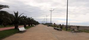 Batumi Boulevard (the boardwalk along the Black Sea).
