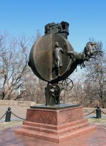 Sculpture in Odessa.