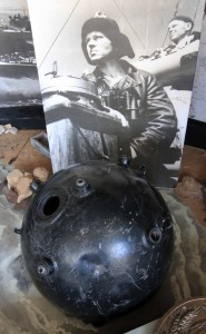 Naval mine used near Odessa during World War II.