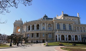 The Odessa Opera and Ballet Theater.