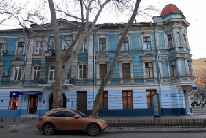 Building in Odessa, near the Philharmonic Society.