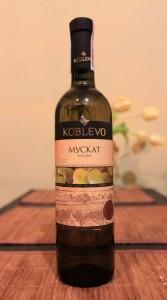 Ukrainian Muscat wine.