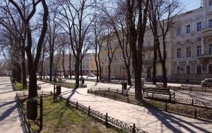 Primorsky Boulevard.