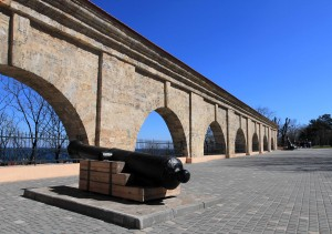 """The """"Old Fortress"""" in Odessa."""