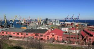 Odessa's seaport.