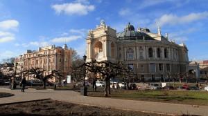 Odessa Opera and Ballet Theater.