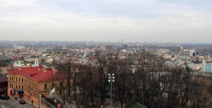 View of Kiev from St. Andrew's Church.