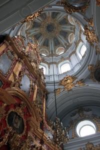 Inside St. Andrew's Church.