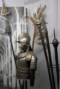 Weapons and armor used in medieval Ukraine.