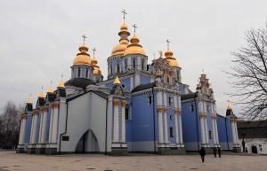 St. Michael's Golden-Domed Monastery.