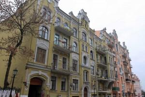 Lovely buildings in Kiev.